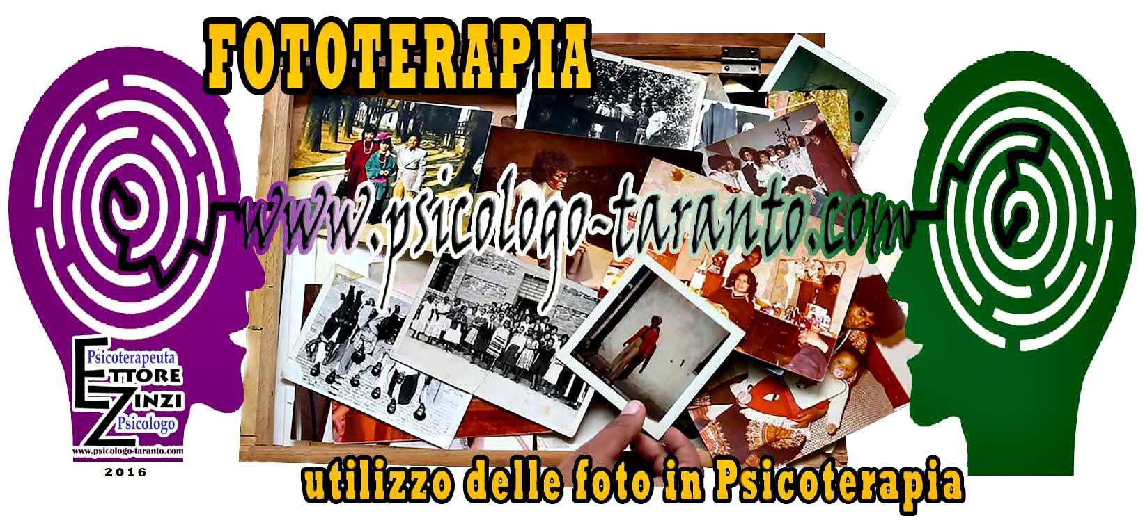 LA FOTOTERAPIA. L'utilizzo delle foto in psicoterapia, utile strumento per rileggere la propria storia.